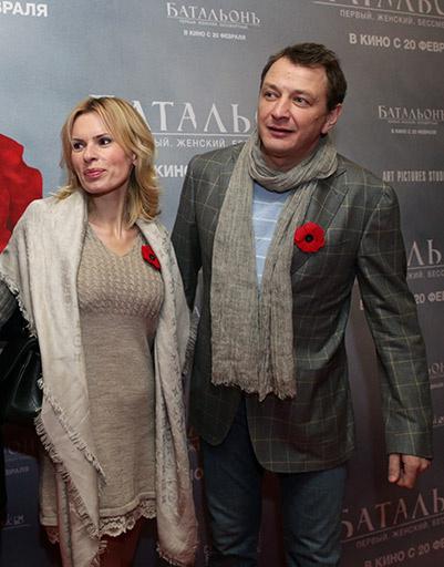 Марат Башаров с бывшей супругой Елизаветой