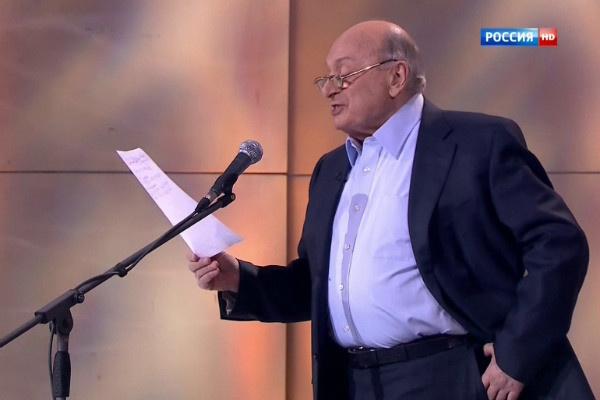 Михаил Жванецкий до сих пор выступает с концертами