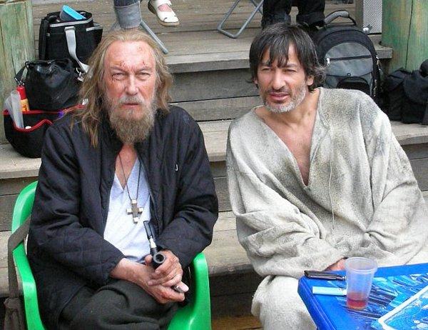 На съемках фильма «Царь» Гусенгаджиев работал дублером