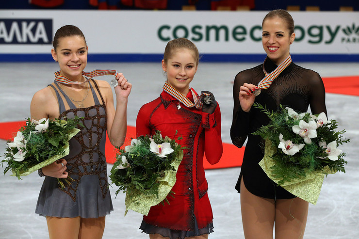 Успехам юной Липницкой завидовали старшие коллеги