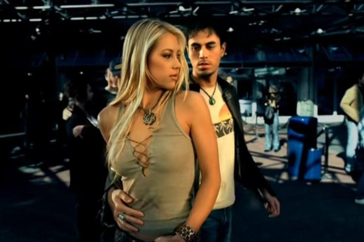 Курникова познакомилась с Иглесиасом на съемках клипа Escape