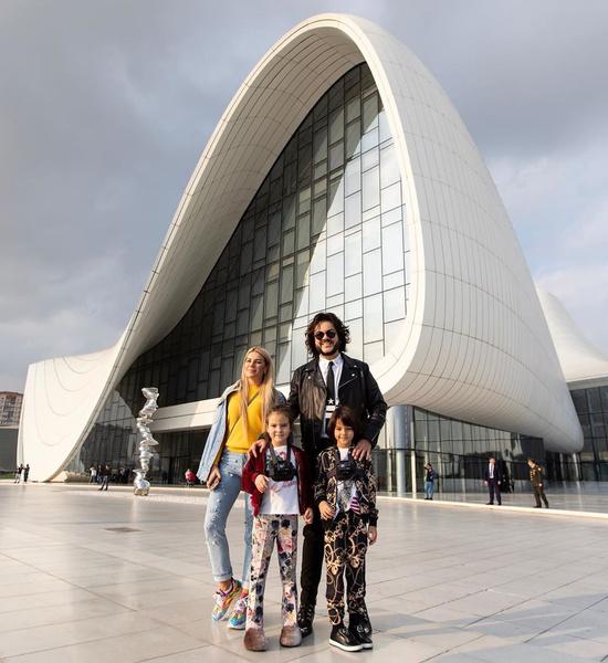Екатерина Гусева вместе с детьми Филиппа Киркорова отдохнули в Баку