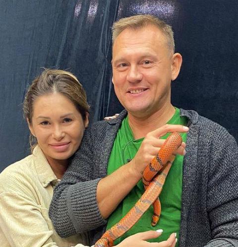 Степан Меньщиков крестил дочь