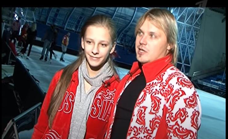 Актриса откаталась в шоу в паре с Максимом Стависким.