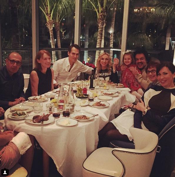 Семейный праздник в ресторане Сipriani