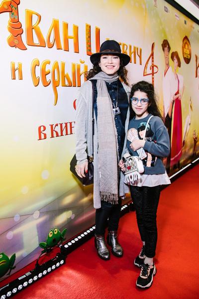 Алена Хмельницкая с дочерью