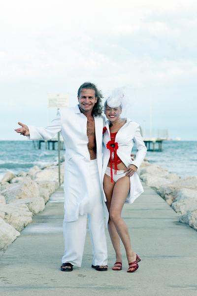 С Анжеликой Варум музыкант сыграл романтичную свадьбу в Венеции