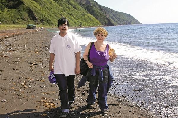 Мария с мужем недавно вернулись из круиза по северу России, побывали в Кижах, Сортавале, на Валааме