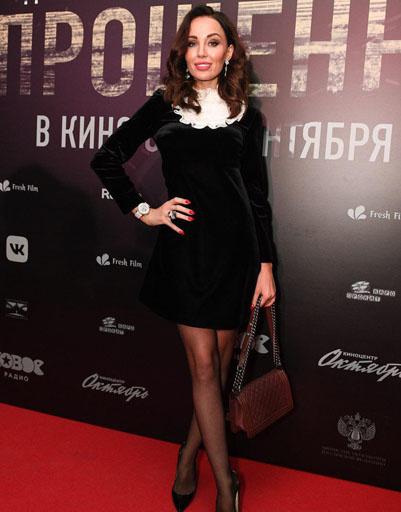 Ведущая канала RU TV Анастасия Барашкова