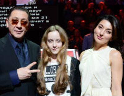 Григорий Лепс привел старшую дочь на шоу «Голос»