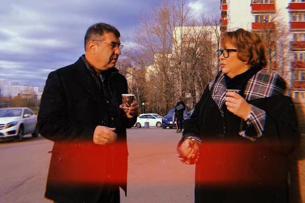 Тот самый снимок с Гришковцом