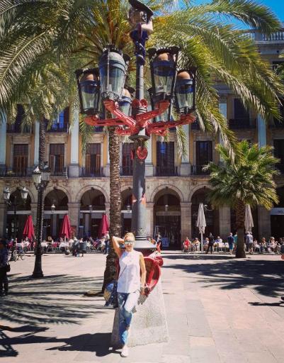 Город покорил Татьяну яркими красками