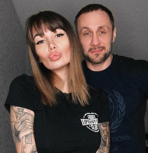Александр Липовой и Александра Кабаева