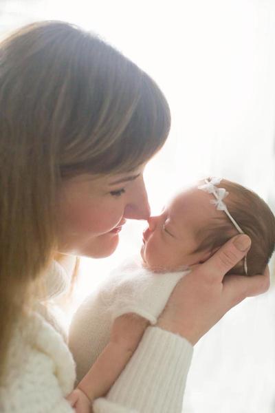 Младшая дочь Оксаны появилась на свет намного раньше положенного срока