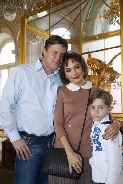 Никита живет с матерью, но не лишен общения отца