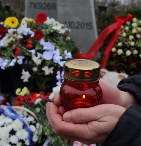 Общее захоронение неопознанных останков погибших на Серафимовском кладбище