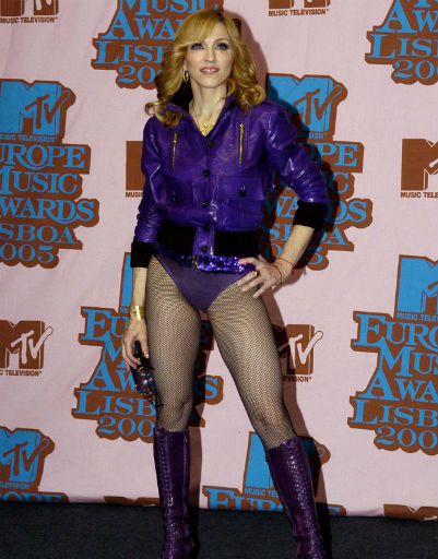 Мадонна не раз была признана иконой стиля