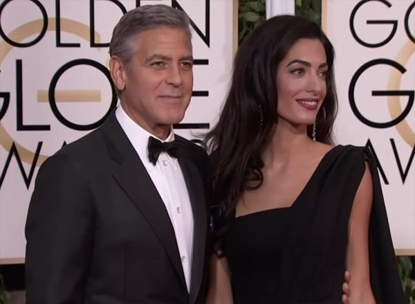 Джордж Клуни станет отцом в первый раз