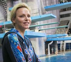 Княгиня Монако провела мастер-класс в Москве