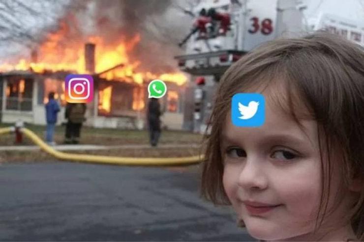 про глобальный сбой в работе Facebook, WhatApp и Instagram