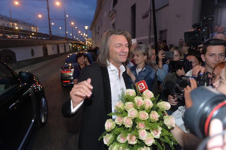 Дмитрий Маликов не мог пропустить праздник давней подруги Ксении