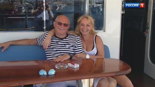 Ирина Цывина с последним мужем Александром Благонравовым