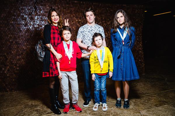 Дети Екатерины Климовой тепло приняли нового избранника мамы