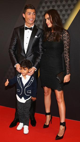 Ирину Шейк не смущало, что у Роналду есть сын от суррогатной матери