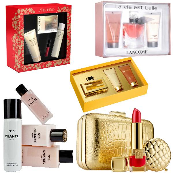 Больше 4000 рублей: Shiseido Набор Bio-Performance, 3980 руб. Lancome Подарочный набор La Vie Est Belle, 3099 руб. Fendi Подарочный набор Fan Di Fendi, 2570 руб. Chanel Набор Chanel №5, 5185 руб. Estee Lauder Подарочный набор с косметичкой Golden Luxuries, 7000 руб.