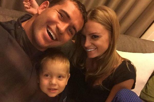 Сына Екатерины Сафроновой сейчас воспитывает новая жена футболиста