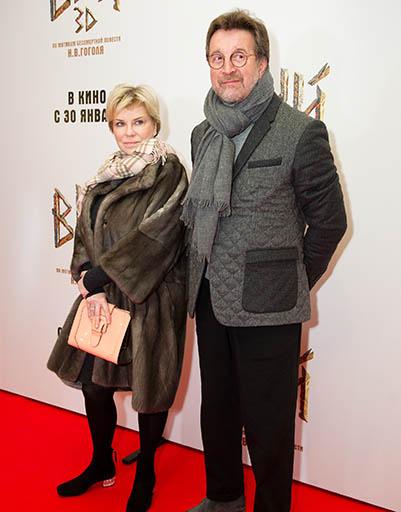 Леонид Ярмольник с женой Оксаной
