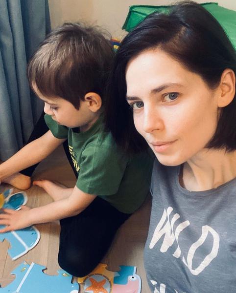 Актриса счастлива быть матерью