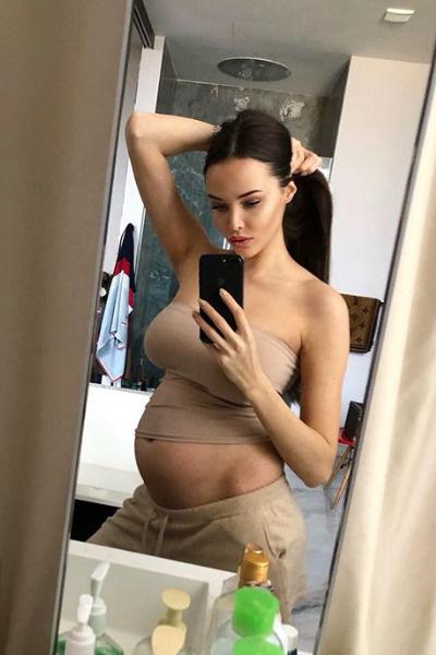 Анастасия часто рассказывает о самочувствии во время ожидании малыша