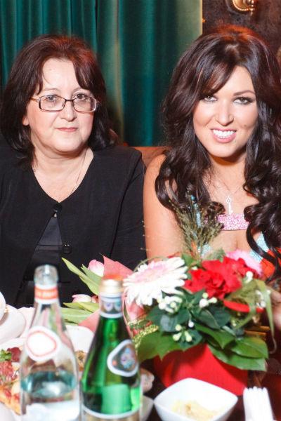 Ирина Дубцова с мамой