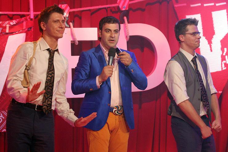В Comedy Club бессменным партнером нашего героя стал Гарик Харламов