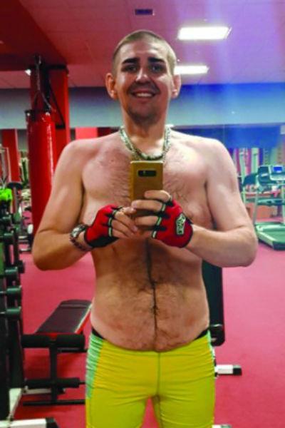 Тренировки Сергея направлены на поддержание хорошей формы