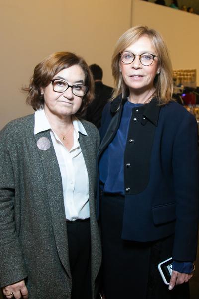 Зельфира Трегулова и Алена Долецкая