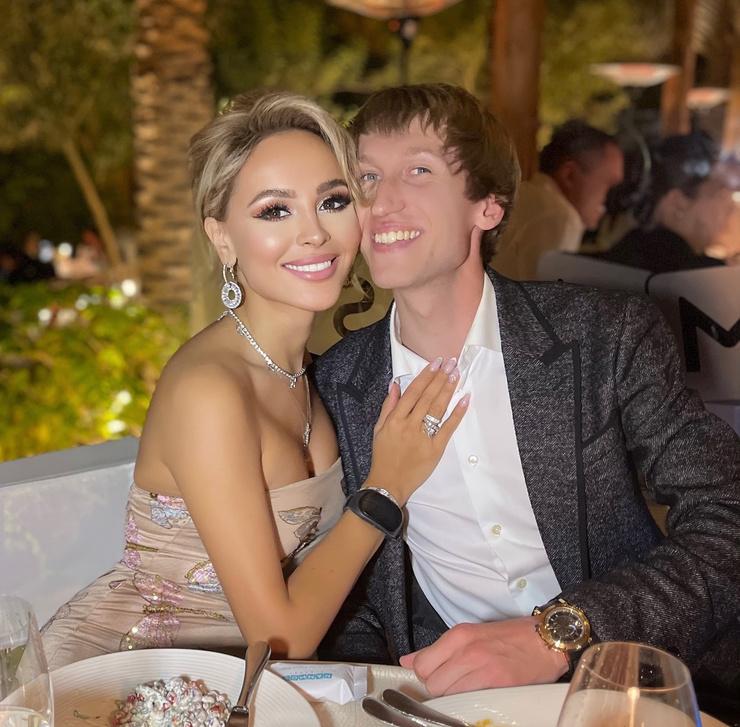 Анна Калашникова с женихом Иваном