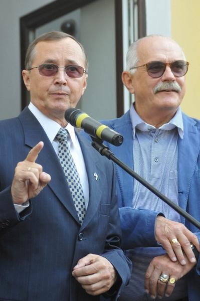 Николай Бурляев и Никита Михалков