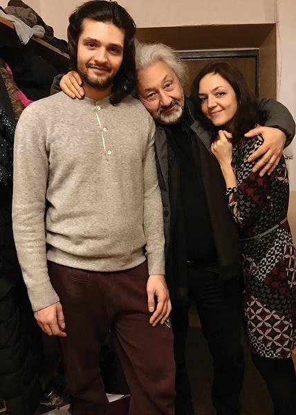 У Стаса Намина трое детей. На фото с дочерью Марией от первого брака и сыном Артемом – от третьего.