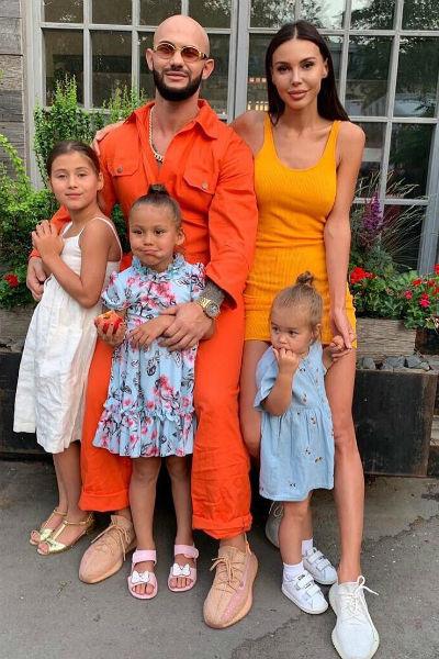 Джиган и Оксана неразлучны с детьми