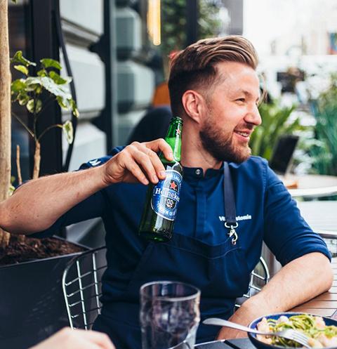 Heineken 0.0 и Виталий Истомин представили рецепты для ланча