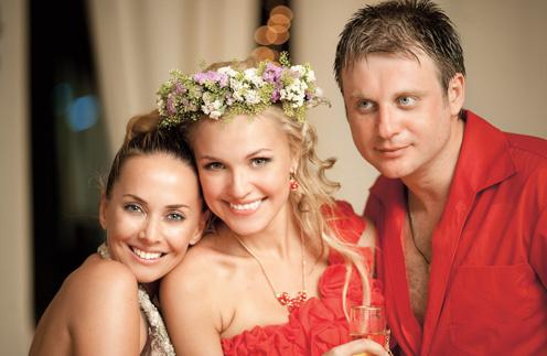 На бракосочетании Анны и Дмитрия Городжих, основавших агентство Svadberry, пела их подруга Жанна Фриске