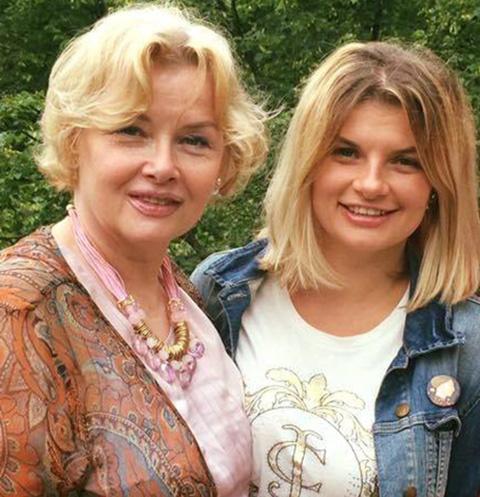 Тамара Акулова и ее дочь Анна Шерлинг
