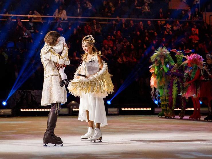 Мила предстала перед публикой на ледовом шоу Татьяны Навки