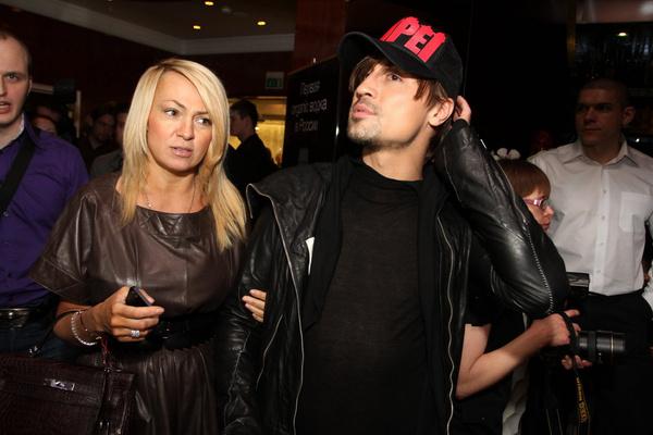 Яна Рудковская встречалась с Биланом