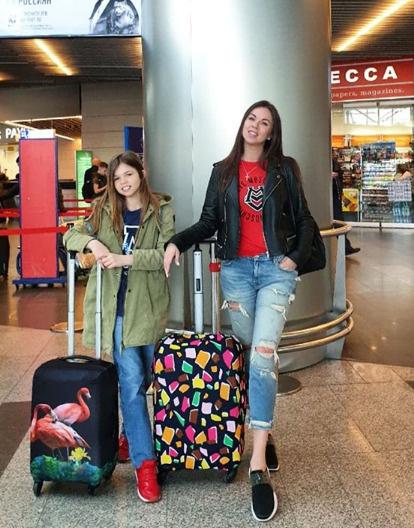 Оксана с дочерью Ангелиной