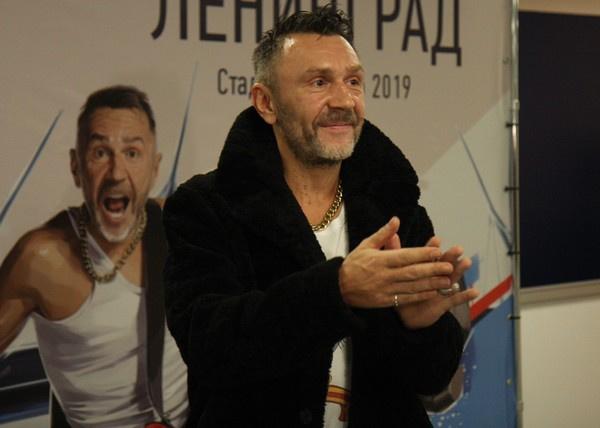 Сергей Шнуров лишь недавно развелся