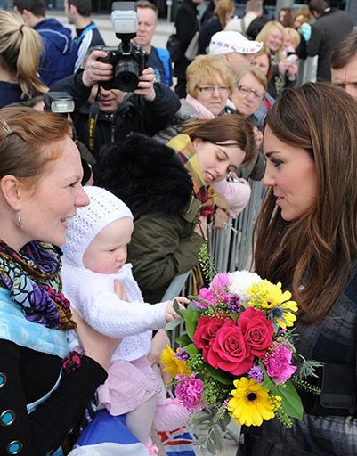 4 апреля. Кейт в Глазго в преддверии двухдневного визита в Шотландию