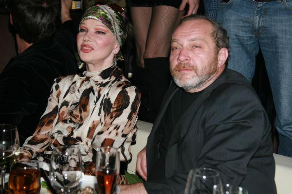 Артистка с последним мужем Сергеем Сениным